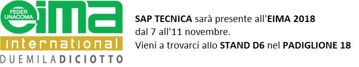 SAP Tecnica - EIMA 2018